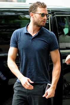 Jamie Dornan outside his hotel in NY - 5 August 2016 Click on for more Anthropoid info or Candid lovefiftyshades.com   twitter   instagram   pinterest   youtube