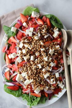 Feta, Lchf, Cobb Salad, Food Videos, Tapas, Grilling, Vegan Recipes, Food And Drink, Vegetarian
