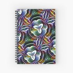 My Notebook, Iphone Wallet, Spiral, Abstract Art, Digital Art, Stationery, Greeting Cards, My Arts, Bloom