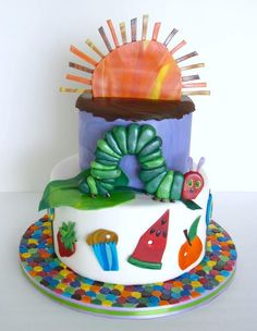 Hungry Caterpillar by Cake Nouveau