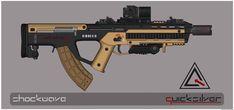 Quicksilver Industries: 'Pampas' Assault Rifle by Shockwave9001.deviantart.com on @deviantART
