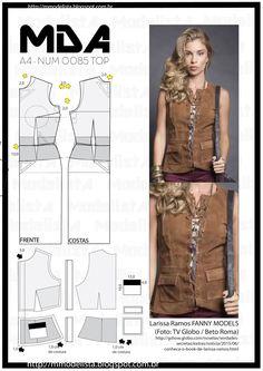 Sewing Pattern/ Vest