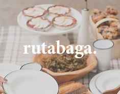 Rutabaga est un magazine web de recettes pour cultiver un style de vie simple et sain.Rutabaga is a online food magazine helping you to maintain a simple and healthy life.rutabagamag.com