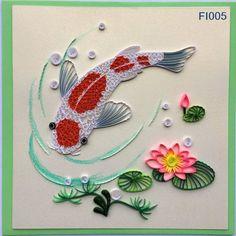 Koi Fishes Card/FI002 FI003 FI004 FI005 FI006 FI007