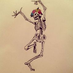 Super skeleton dancing tattoo macabre Ideas - Super skeleton dancing tattoo macabre Ideas You are in the right place about Super skeleton danc - Tattoo Drawings, Body Art Tattoos, Cool Tattoos, Funny Small Tattoos, Tatoos, Funny Tattoos, Skeleton Tattoos, Skeleton Art, Piercing Tattoo