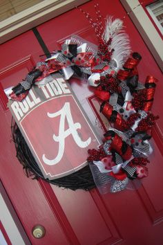 Could I do this as a Baylor wreath for football season?