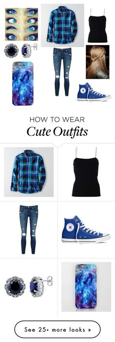 """Quotev"" by morgan-elizabeth-lafever on Polyvore featuring American Eagle Outfitters, T By Alexander Wang, rag & bone/JEAN, Converse, BERRICLE, women's clothing, women, female, woman and misses"