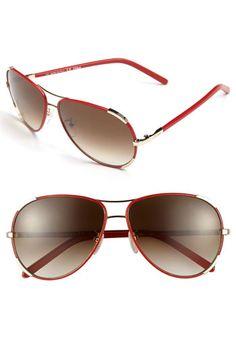 6a340bff3 Chloé 60mm Aviator Sunglasses Cores, Marsala, Óculos De Sol Aviador  Dourado, Aviação,
