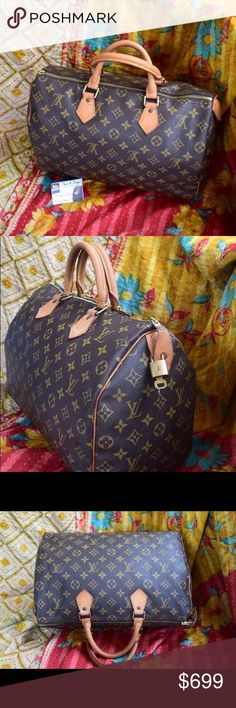 Speedy 30 vintage Bought this off my good friends page. NFS yet. Just sharing . 😊 I'm getting the leather parts redone 😊😊 Louis Vuitton Bags Satchels