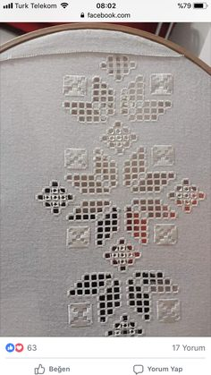 Bargello, Drawn Thread, Hardanger Embroidery, Diy And Crafts, Paisley, Shabby Chic, Crafty, Sewing, Hand Embroidery Designs