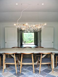 Long Bubble Chandelier combine together for ceiling of Lady Den Blown Glass Chandelier, Bubble Chandelier, Pendant Chandelier, Chandelier Lighting, Suspended Lighting, Glass Ceiling Lights, Ceiling Fixtures, Light Fixtures, Chandeliers