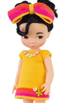 Yellow Crayon Dress For Disney Animators 16 inch от LelleModa