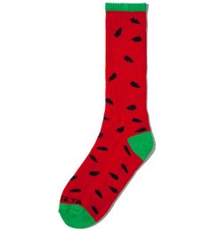 Odd Future Red/Green Watermelon Sock