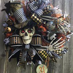 Steam Punk Mr. Bones by Holiday Baubles