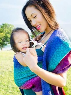 Marakesh Kaimu Baby Wrap by Oscha Slings