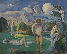 Paul Cézanne - Bathers at Rest (Baigneurs au repos) (Image 2012 The Barnes Foundation)