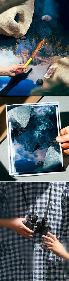 """奥地利摄影师Thomas Albdorf最近在纽约Deli Gallery展出了新系列""""General View""""。此项目灵感来自风景优美的美国约塞米蒂国家公园。Thomas质疑这种被无数次拍摄过的地方,是否需要再被额外地拍摄?如果当地的图像能被随意下载或者用Google街景观看,我又曾到访过?Thomas在后期处理自己拍摄的该公园图像的时候,刻意重现了Google街景的机器故障。他认为这种由计算机用算法运作的,无人控制的摄影方式以及互联网影响了当代摄影,但是数字操控的摄影完全不可能成为真正的摄影。"""