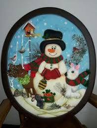 Resultado de imagen para cuadros en falso patchwork navideños