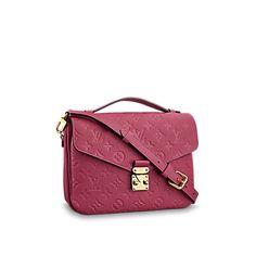 Monogram Empreinte Leather HANDBAGS  Pochette Metis | Louis Vuitton ®