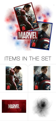 """Civil War"" by shadow13goddess101 ❤ liked on Polyvore featuring art"
