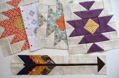 The wedding will be here before we know it! My plan for the wedding quilt is coming together quite nicely I drew up a bit of a lay. Barn Quilt Designs, Quilting Designs, Arrow Quilt, Southwestern Quilts, Indian Quilt, Geometric Quilt, Half Square Triangle Quilts, Star Quilt Blocks, Quilting Projects