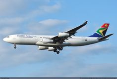 South African Airways Airbus A340-211
