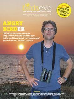 El escritor norteamericano Jonathan Franzen denuncia la caza ilegal de aves en el Mediterráneo