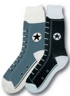 BLACK CONVERSE SOCKS