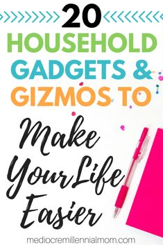 20 Household items that will make your life easier. Products to simplify life.
