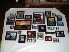 Hanging photo wall easy and genius way