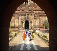 Going places: Global Scavenger Hunt, Leg Myanmar, the Golden Land, lets the outside world in; The Island Now