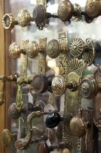 These antique decorative door knobs just came in from an 100-year ...