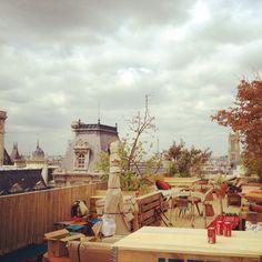 Le Perchoir / Marais café toit terrasse