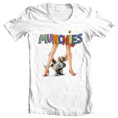 b843a1c7f Munchies T-shirt retro 80's sci fi Critters Gremlins 100% cotton graphic tee  -