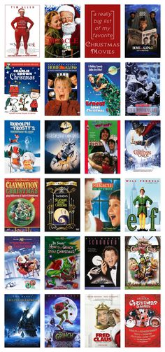 A really big list of my favorite Christmas movies via complicated simplicity