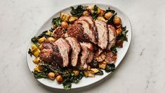 This recipe for two pork loin roasts decreases the overall cooking time and develops a delicious golden brown crust. Bone In Pork Loin, Cooking Time, Cooking Recipes, Game Recipes, Cooking Ideas, Meat Recipes, Food Ideas, Pork Roast Recipes, Pork Meals