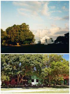 Igreja de São João Batista and the colours of Trancoso's quadrado #Bahia
