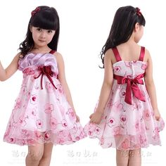 New-Korean-Baby-girls-summer-Strap-Child-Dress-A-line-Kids-Children-Princess-Dress-for-party.jpg (737×737)