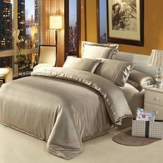 Image result for champagne king quilt cover set