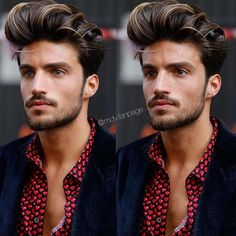 Blue Icy eyes or Brown eyes? • • #marianodivaio#model#actor#blogger#fashion