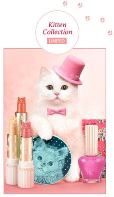 "Paul & Joe Limited Edition ""Kitten Collection"" make up"