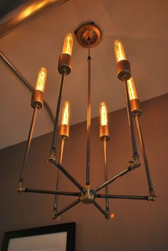 $300 Inverted sputnik Chandelier this could also be fun in the upstairs bathroom