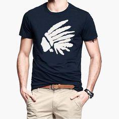 Short Sleeve 100% Cotton Slim T Shirt