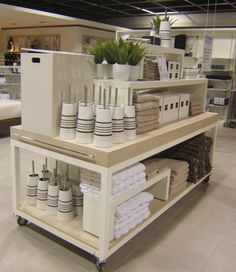 Very clean and organized. | Visual Merchandising at Freedom Furniture by Stephanie Phillips.