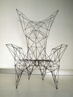 angleterre, tom Dixon, pylon chair