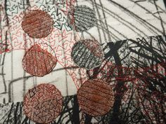Laura Kemshall: Landscape and Pattern #3', 2014, (detail) 60cm x 42cm x 4cm Mounted on box canvas and ready to hang