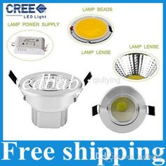 Ultar Bright COB 9w Recessed Led Downlights AC 85-277V Led Down Lights Warm Cool White Power Drivers Online with $149.25/Piece on Ledbaby's Store | http://www.dhgate.com/store/product/ultar-bright-cob-9w-recessed-led-downlights/229632407.html