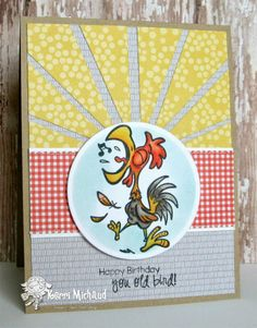 Your Next Stamp card by Kerri using Squawk the Rooster