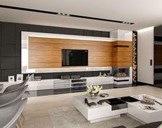 DOM W STYLU GLAMOUR - Duży salon z jadalnią, styl glamour - zdjęcie od PEKA STUDIO