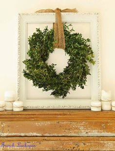 An Earthy Wreath to Bring Nature into your Home